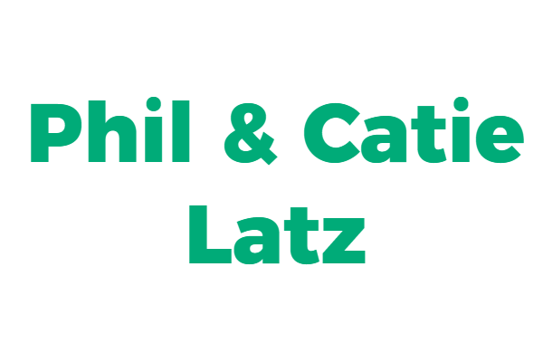Phil and Catie Latz