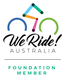 We Ride Foundation Member Vertical Logo