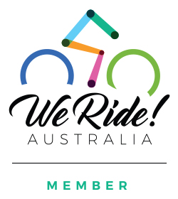 We Ride Member Vertical Logo