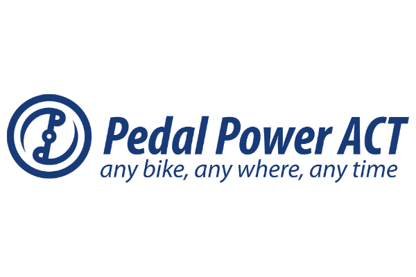 Pedal Power ACT Logo