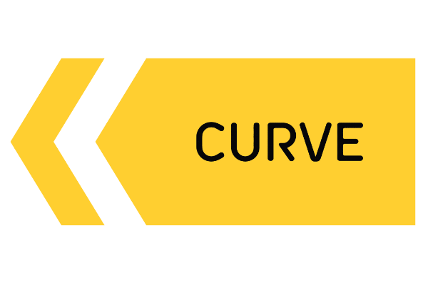 Curve Cycling Logo