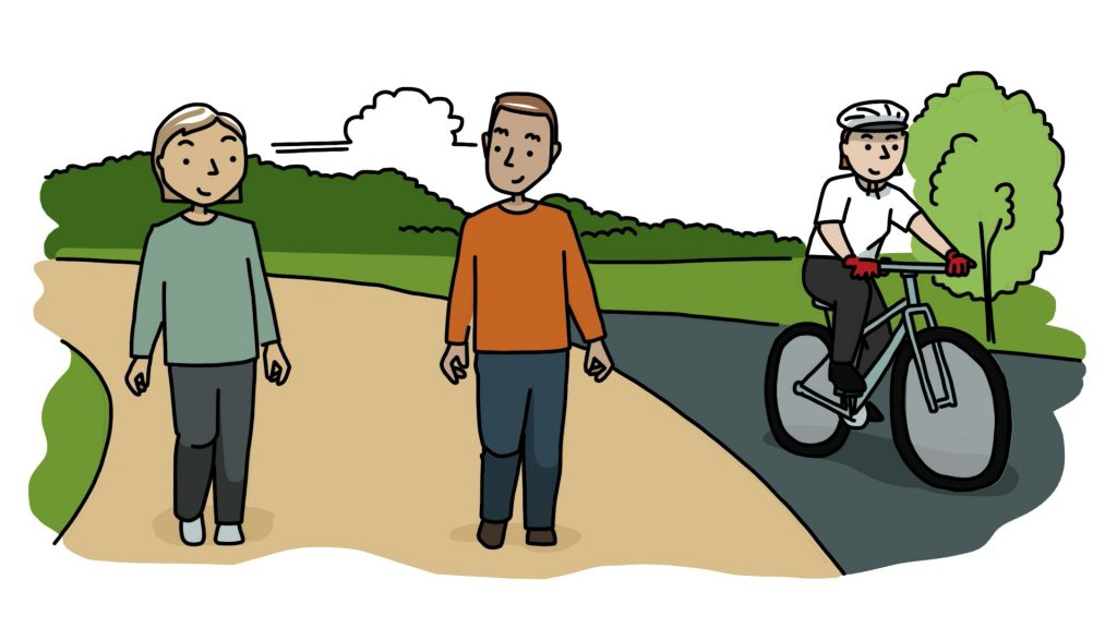 Contact your Council to ask for more space for walking and cycling in your community
